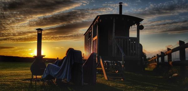 Shepherds Hut at Tannenbaum Campsite
