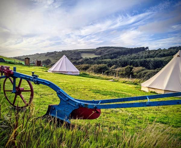 Bell Tents at Higher Pendeen Camping