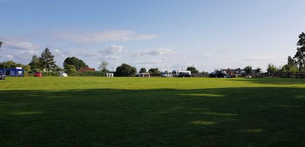 Spacious camping in tranquil location at Bishop Lydeard Caravan and Camping